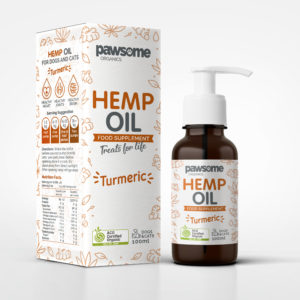 Natural organic pet supplements hemp oil for dogs and cats