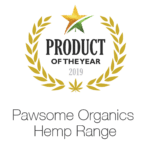 Award winning Product of the year Pawsome Organics