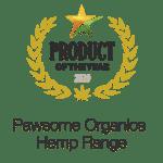 Award winning Product of the year Pawsome Organics