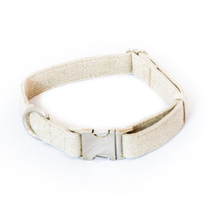 dog collar hemp